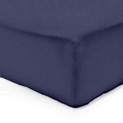 VISION Drap housse 140x190 cm - Bleu marine
