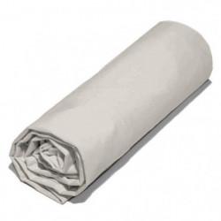 COTE DECO Drap housse 100% percale de coton - 160x200x25 cm