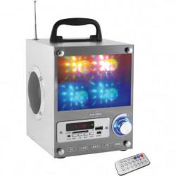 INOVALLEY DANCE CUBE 20 Enceinte portable lumineuse - USB, c
