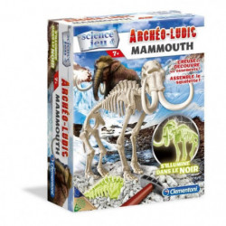 CLEMENTONI Archéo Ludic - Mammouth Phosphorescent - Science