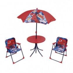 SPIDERMAN Ensemble de jardin / Camping enfant (table, 2 chai