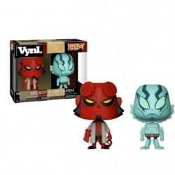 2 Figurines Funko Vynl Hellboy: Hellboy & Abe Sapien
