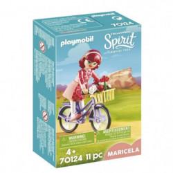 PLAYMOBIL 70124 - Spirit - Maricela et bicyclette  - Nouveau