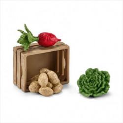 SCHLEICH - Figurine 42289 Nourriture pour cochons et porcele
