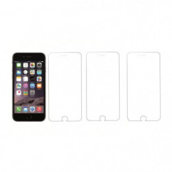 PLATYNE Lot de 3 Films de protection avant pour IPhone 7/8 -