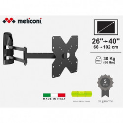 "MELICONI MB200 MOTION Support mural pour TV de 26"" a 40"""