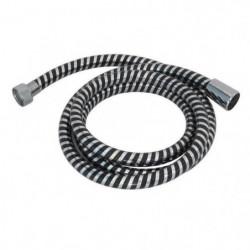 Flexible de douche Biflex 2m noir / chromé