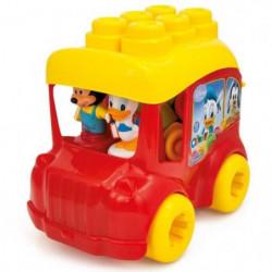 CLEMENTONI Clemmy - Le Bus de Mickey - Cubes souples