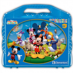 CLEMENTONI - Puzzle 12 Cubes - Mickey