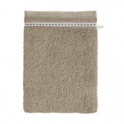 SANTENS Lot de 2 gants de toilette Oxia Sand 2 x 16x22 cm