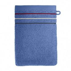 SANTENS Lot de 2 gants de toilette Teline Océan 2 x 16x22 cm