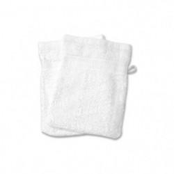 SOLEIL D'OCRE Lot de 2 gants de toilette 100% Coton DOUCEUR