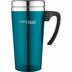 THERMOS Soft touch travel mug isotherme - 420ml - Turquoise