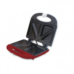 BEPER 90.640H Machine à sandwish - 700 W - Blanc et Rouge