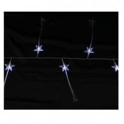 Guirlande de Noël LED intérieure étoiles fibre optique - 1,3