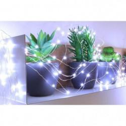 Guirlande micro-LED - 7,5 m - Blanc pur - 150 LED - 16 fonct