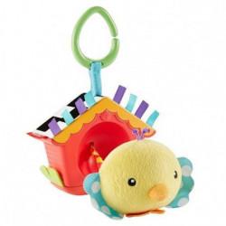 FISHER-PRICE - Hochet 2 en 1 -  Mon petit oiseau coucou