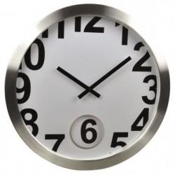 ORIUM Horloge murale oft pendulum - Ø 30 cm - Blanc