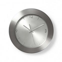 NEDIS Horloge murale circulaire - Ø 35 cm - Acier inoxydable