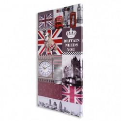 MUNDUS Toile Katelyn avec horloge - Symbole d'Angleterre - 4