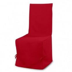 SOLEIL D'OCRE Housse de Chaise PANAMA Rouge 37x50cm