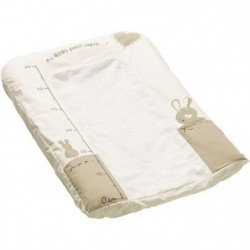 THERMOBABY Housse matelas a langer - Au dodo lapin