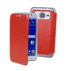 MUVIT Mip Etui Crystal Folio Luxe Rouge Samsung Galaxy Grand