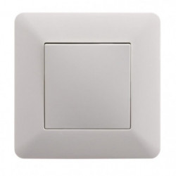 ARTEZO Interrupteur poussoir  10 A blanc