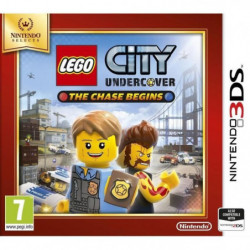 Lego City Undercover - The Chase Begins Select Jeu 3DS