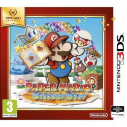 Paper Mario Sticker Star Select Jeu 3DS
