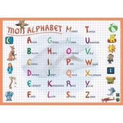 MGM - Sous-main - L' alphabet