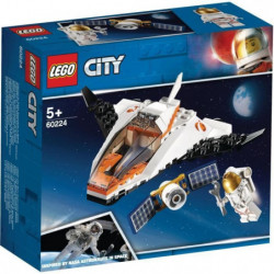 LEGO City 60224 La mission d'entretien du satellite