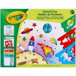 CRAYOLA Atelier de Pochoirs