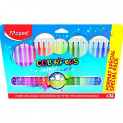 MAPED 24 Feutres Color'Peps Format Special