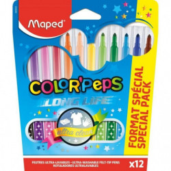 MAPED 12 Feutres Color'Peps Format Special