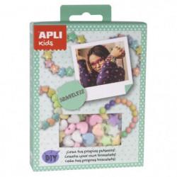 APLI Mini kit Faites vos bracelets - Pastel