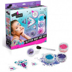 CANAL TOYS - STYLE 4 EVER - Body Glitter Art Kit- Applique t