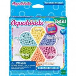 Aquabeads Recharge Perles Pastel - 31360
