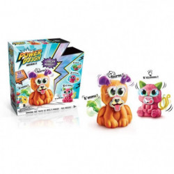 CANAL TOYS - POWER DOUGH - Crazy Animals - Donne Vie a ta Pâ