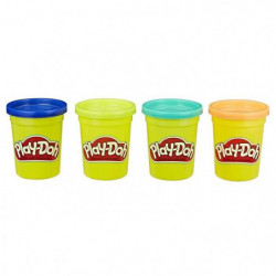 PLAY-DOH - 4 POTS - NATURE