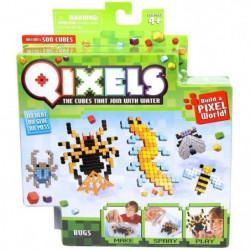 ASMOKIDS - QIXELS - Mini Kit 4 Créations - Theme INSECTES