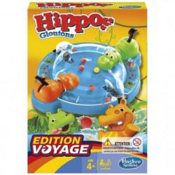 HASBRO GAMING - Hippos Gloutons - Jeu de voyage
