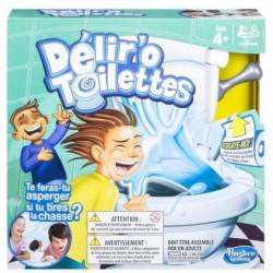 HASBRO GAMING - Délir'O Toilettes - Jeu de Société