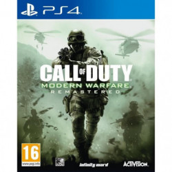 Call of Duty Modern Warfare Remastered Jeu PS4