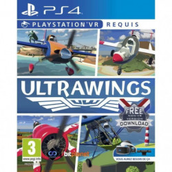 UltraWings VR Jeu PS4 (PSVR obligatoire)