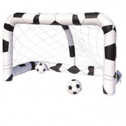 BESTWAY But de football gonflable + ballon - 36 cm de diamet