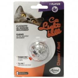 AIME Jouet balle lumineuse - Pour chat