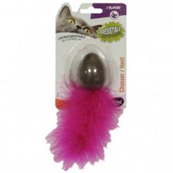 AIME oeufs avec herbe a chat compressé - Jouet pour chat
