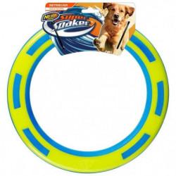 NERFDOG Bague flottante Soaker - Vert et bleu - Pour chien