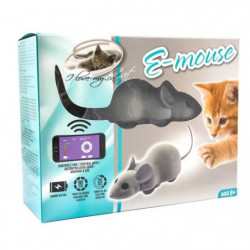 """RIGA Souris connectée E Mouse - """"I Love my cat"""" - Pour chat"""